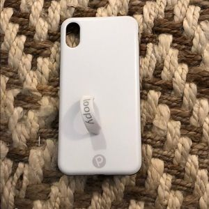 Loopy XS max case white